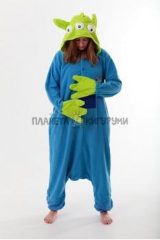 Пижама-кигуруми Инопланетянин для взрослых