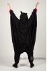 Пижама-кигуруми Летучая мышь для взрослых