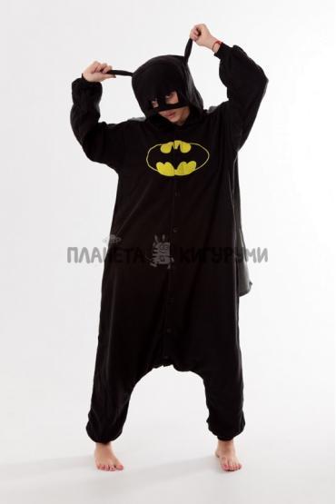 Пижама-кигуруми Бэтмен для взрослых