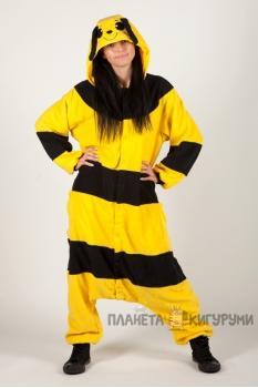 Пижама-кигуруми Пчёлка для взрослых