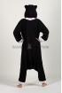 Пижама-кигуруми Чёрный кот для взрослых