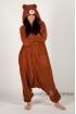Пижама-кигуруми Медведь Браун для взрослых