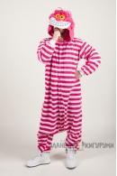 Пижама-кигуруми Чеширский кот для взрослых
