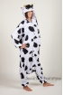 Пижама-кигуруми Молочная корова для взрослых