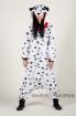 Пижама-кигуруми Собака Долматин для взрослых