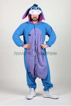 Пижама-кигуруми Ослик Иа для взрослых