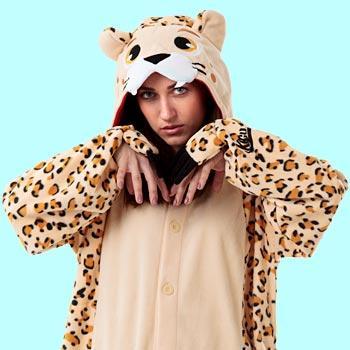 Кигуруми леопард для взрослых