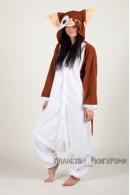 Пижама-кигуруми Гизмо для взрослых