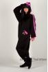 Пижама-кигуруми Хелло Китти чёрная для взрослых