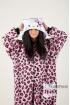 Пижама-кигуруми Хелло Китти фиолетовая для взрослых