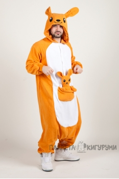 Пижама-кигуруми Кенгуру для взрослых
