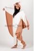Пижама-кигуруми Белка летяга  для взрослых