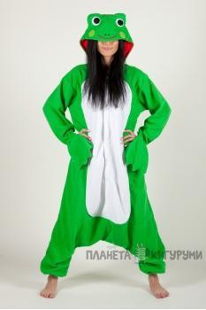 Пижама-кигуруми Лягушонок для взрослых