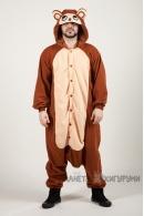 Пижама-кигуруми Обезьянка для взрослых