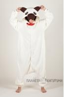 Пижама-кигуруми Собачка Мопс для взрослых