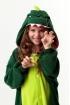 Кигуруми Динозавр из флиса для детей