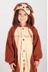 Пижама-кигуруми Обезьянка из флиса для детей