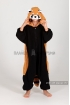 Кигуруми Красная панда из флиса для детей