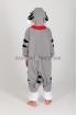 Кигуруми Серый котёнок из флиса для детей