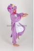 Кигуруми Единорог фиолетовый из флиса для детей