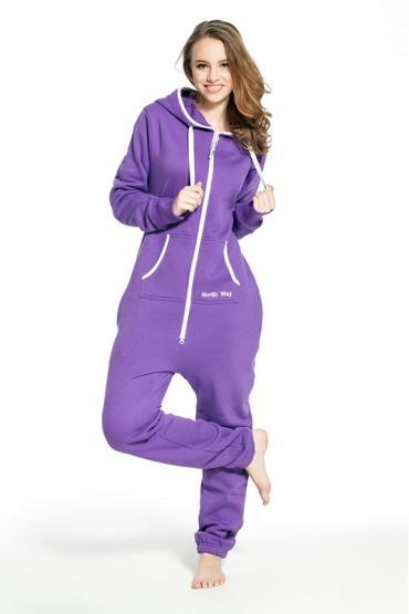 Комбинезон Nordic Way Classic фиолетовый  для взрослых унисекс