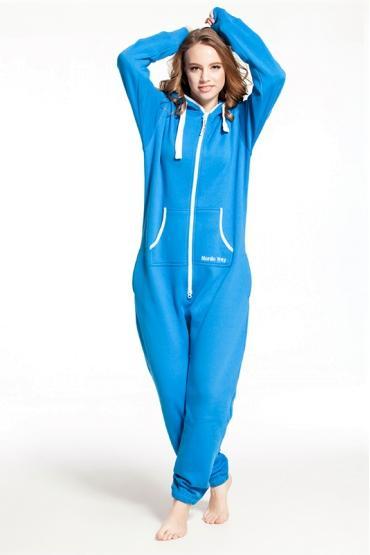 Комбинезон Nordic Way Classic синий для взрослых унисекс