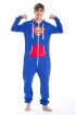 Комбинезон Nordic Way Superman  для взрослых унисекс