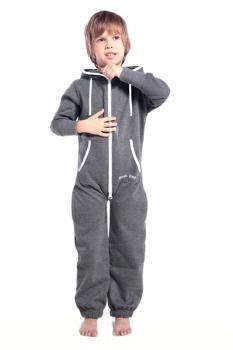 Комбинезон Nordic Way темно-серый Kids для детей