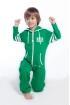 Комбинезон Nordic Way Kids College зеленый для детей