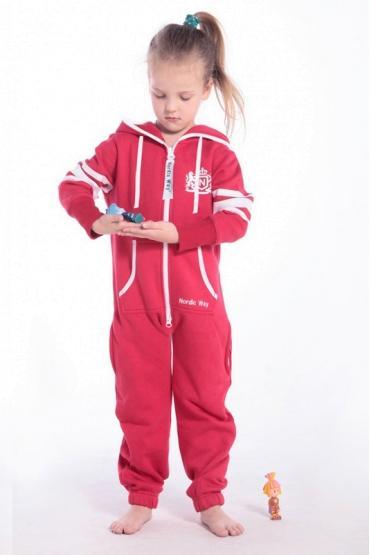 Комбинезон Nordic Way Kids College красный для детей