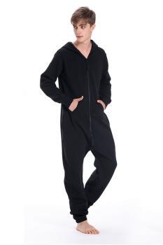 Комбинезон Nordic Way One color черный для взрослых унисекс