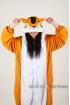 Пижама-кигуруми Оранжевая белка для взрослых