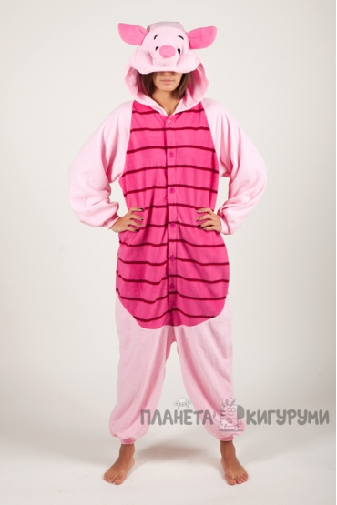 Пижама-кигуруми Пятачок для взрослых