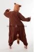 Пижама-кигуруми Енот для взрослых