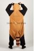Пижама-кигуруми Красная Панда для взрослых