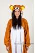 Пижама-кигуруми Медвежонок Риликкума для взрослых