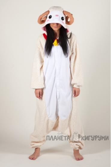 Пижама-кигуруми Овечка для взрослых