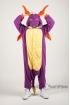Пижама-кигуруми Дракон Спайро для взрослых