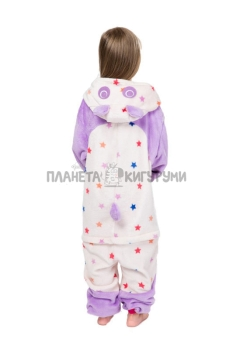 Кигуруми Панда звездная детский