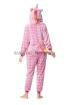 Кигуруми Звездный Единорог розовый из велсофта для взрослых