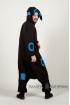 Пижама-кигуруми Покемон Умбреон синий для взрослых