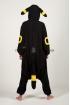 Пижама-кигуруми Покемон Умбреон жёлтый для взрослых