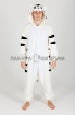 Пижама кигуруми Белый тигр для взрослых