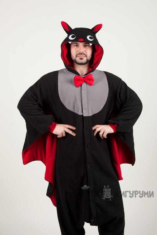 6ae8e7afc5e6 Кигуруми Летучая мышь - купить пижаму Летучая мышь в интернет ...