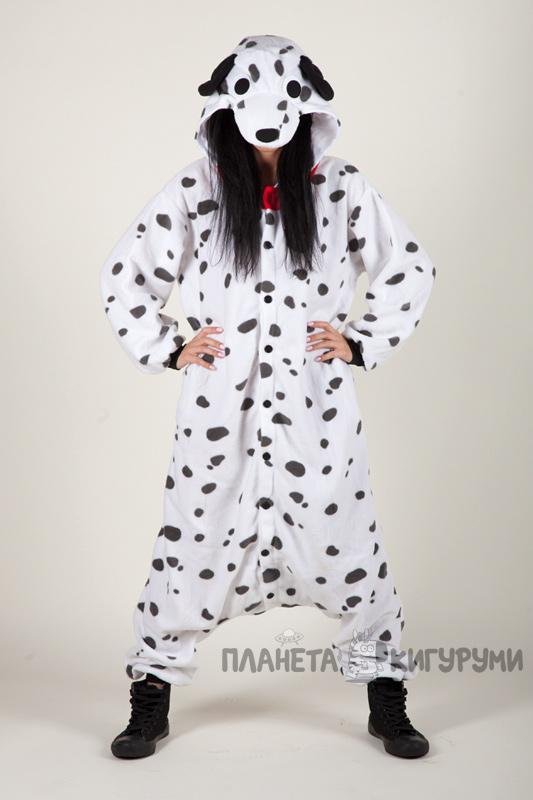 Кигуруми Долматин - Купить в Москве пижаму собака Долматин. Интернет ... e1d0e5be6caf2