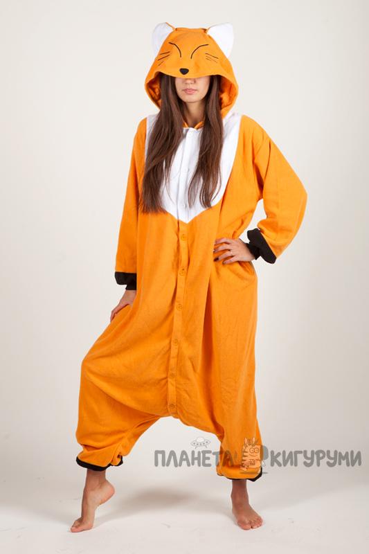 Кигуруми Лиса - купить пижаму Лиса в интернет магазине planeta ... ccf4063074064
