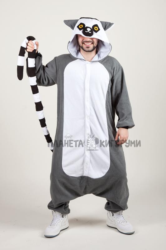 Кигуруми Лемур - купить пижаму Лемур в интернет магазине planeta ... 6b59aec4cee7f