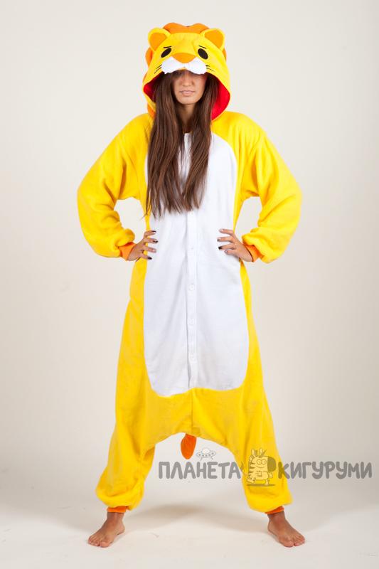 Кигуруми Лев - купить пижамку Лев в интернет магазине planeta ... f63dd3f16c7ed