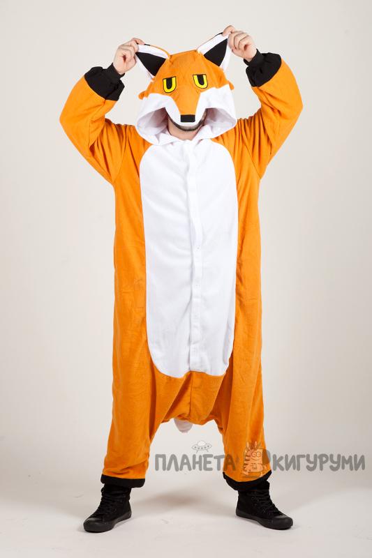 Кигуруми Мистер Фокс. Купить пижаму кигуруми Мистер Фокс (Лис) в ... 0b77f800addb1