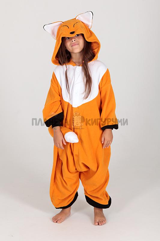 Кигуруми Лиса для детей - купить детскую пижаму Лиса в Москве 7599b00963bad